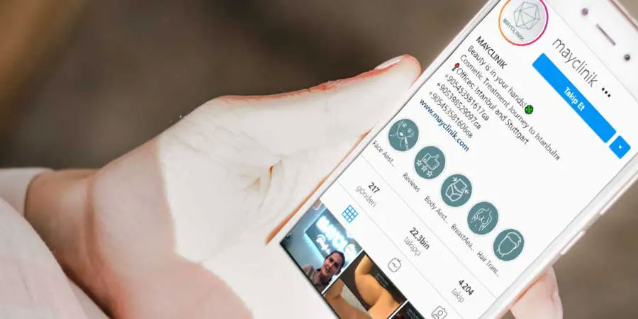 USE OF SOCIAL MEDIA INCREASES PLASTIC SURGERY AMONG YOUNG PEOPLE